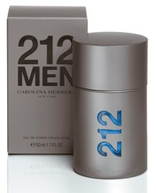 Carolina Herrera 212 for men eau de toilette