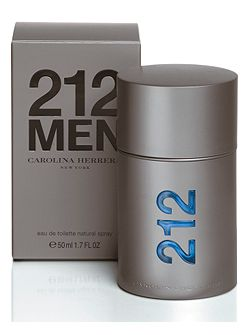 212 men eau de toilette spray 50ml