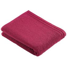 Calypso Feeling towel range in cranberry