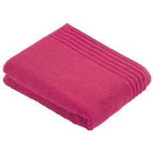 Vienna style bath towel range purple