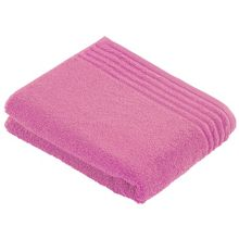 Vienna style bath towel range dusty rose