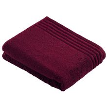 Vienna style bath towel range grape