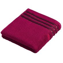 Cult de lux cranberry towel range