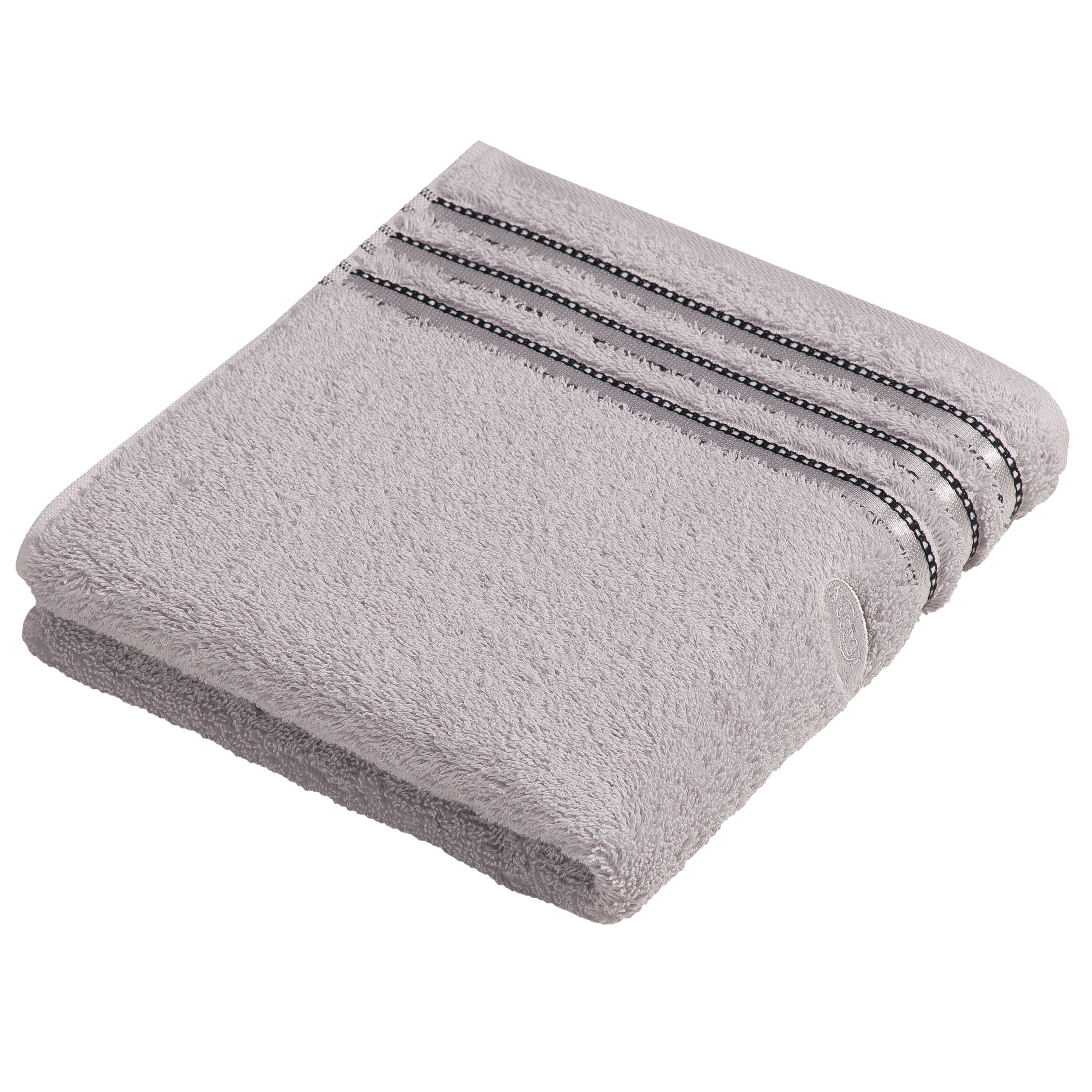 Cult de lux light grey towel range