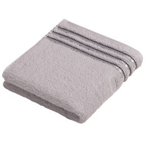 Vossen Cult de lux light grey towel range