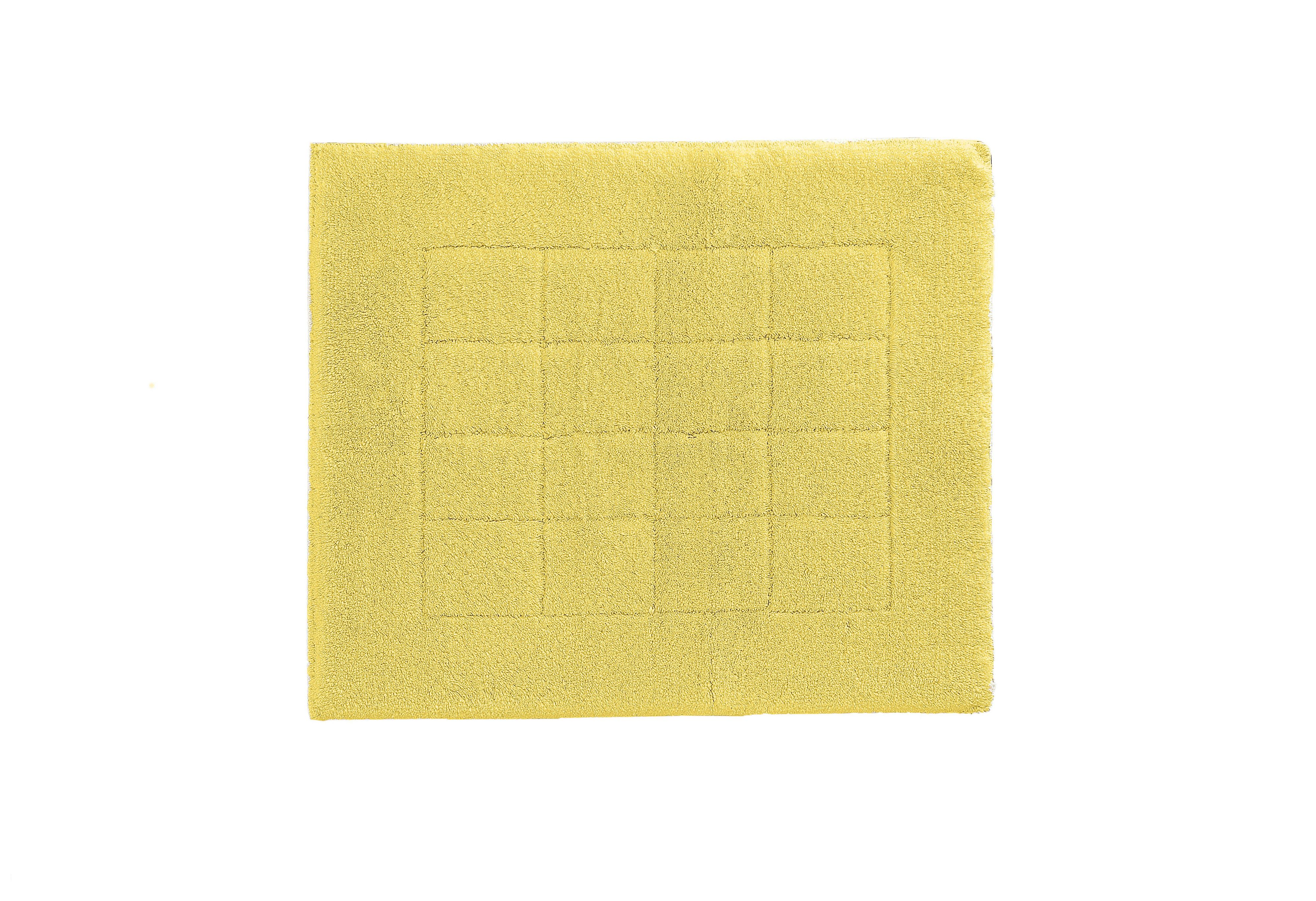 Exclusive bath mat range in citrus