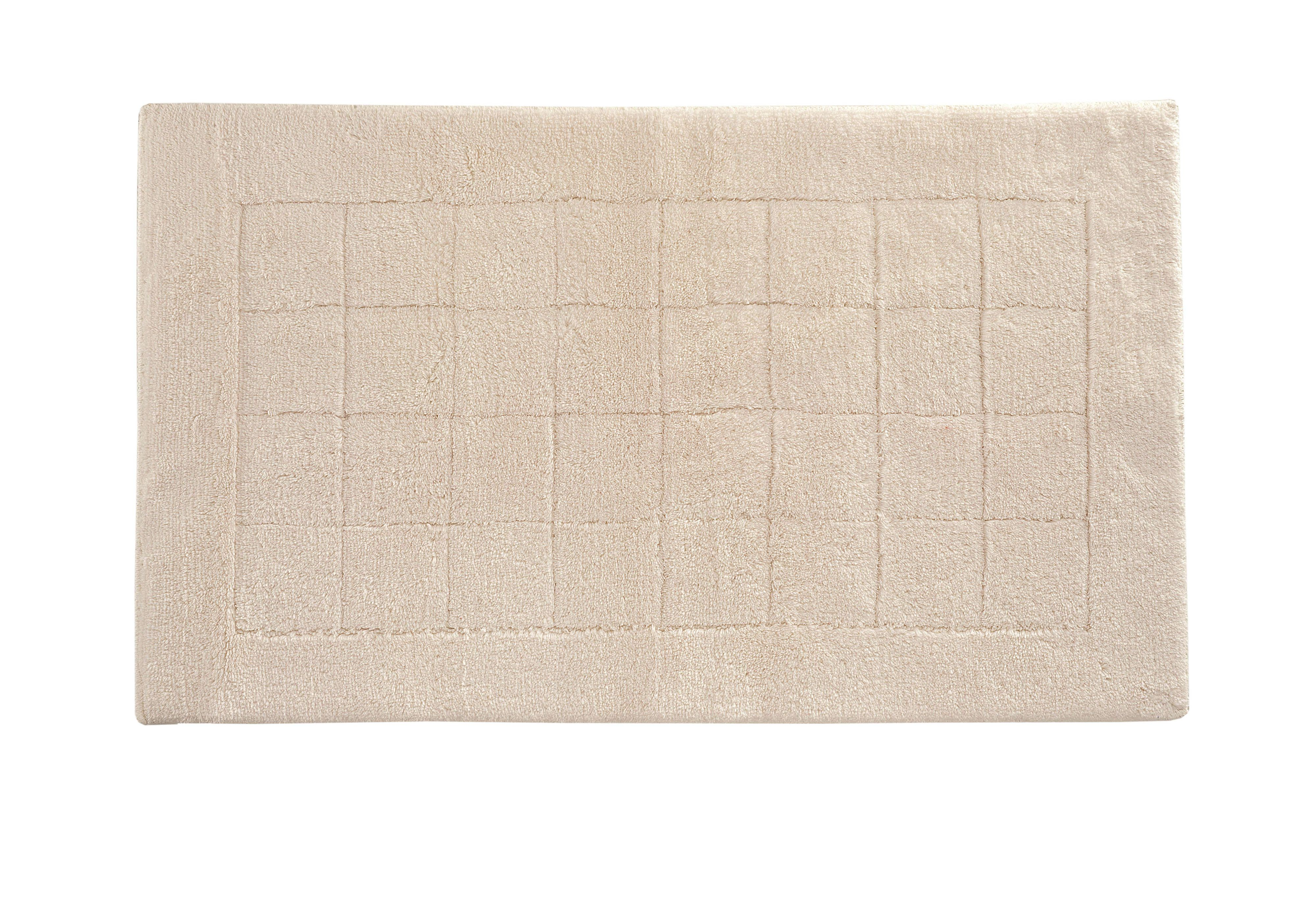 Exclusive bath mat range in ivory