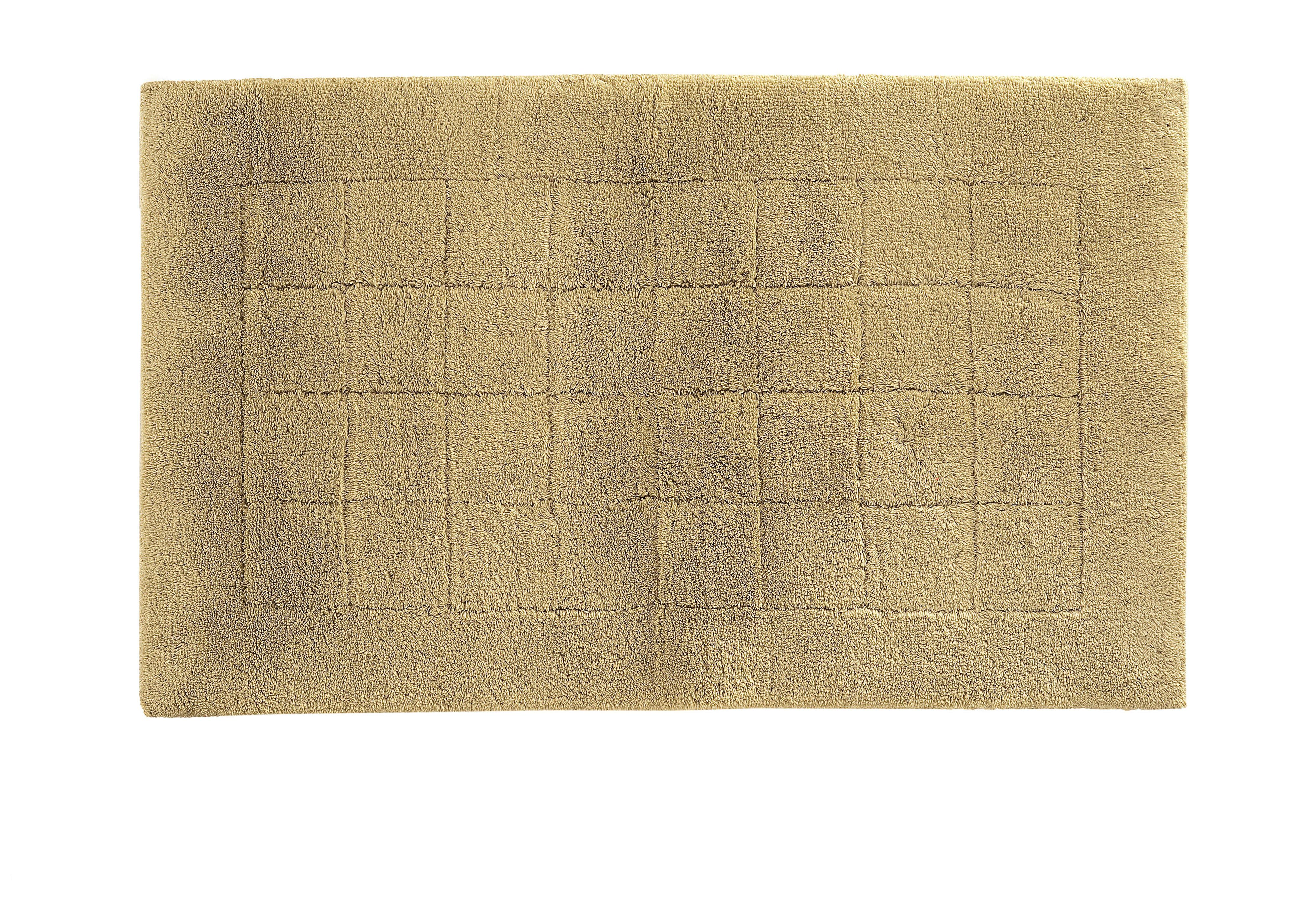 Exclusive bath mat range in olive