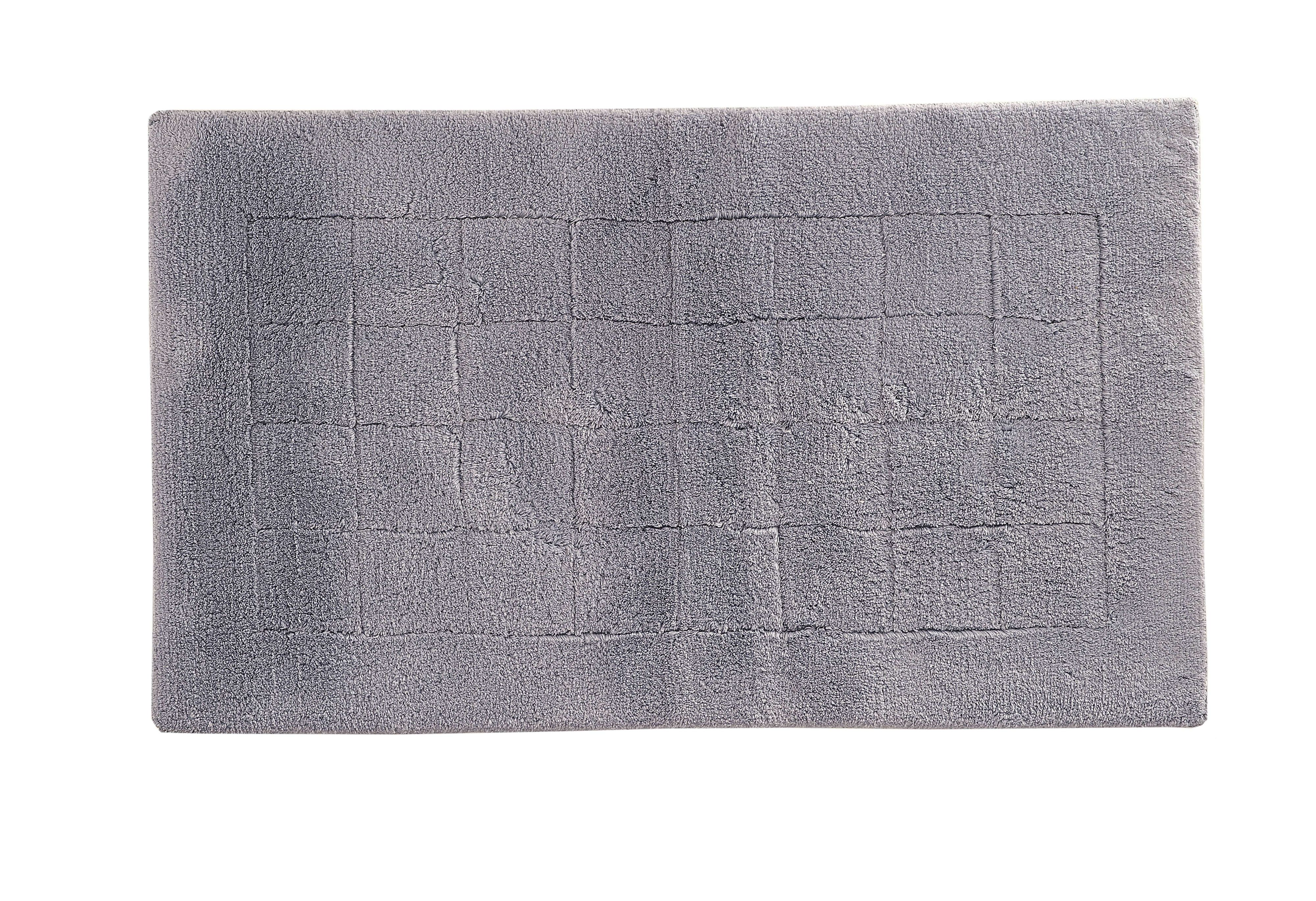 Exclusive bath mat range in malve