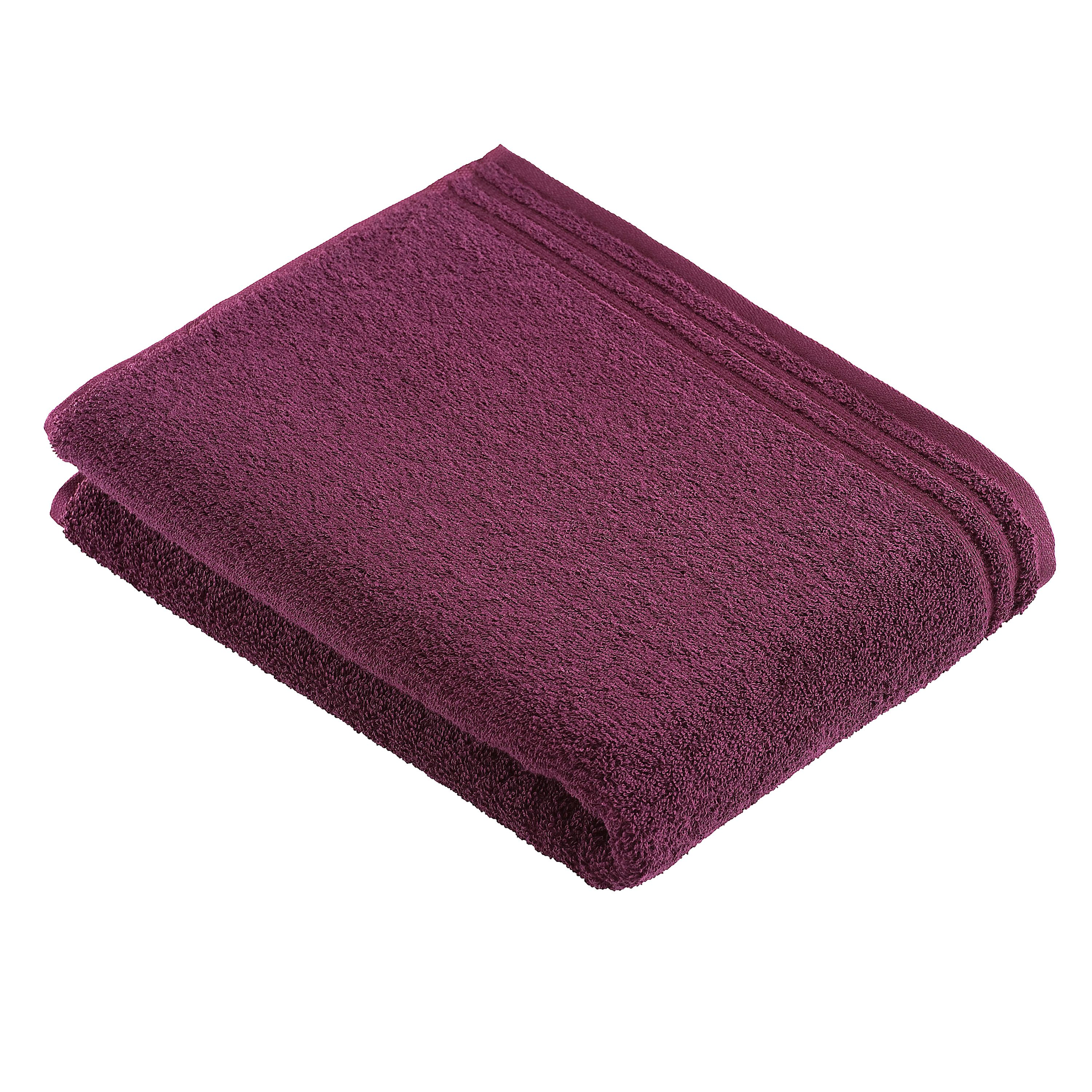 Calypso Feeling towel range in grape