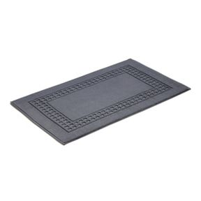 Vossen Country style bath mat range charcoal