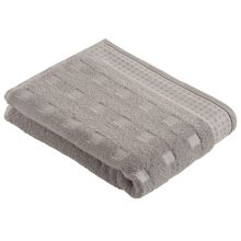 Country towel range in silver