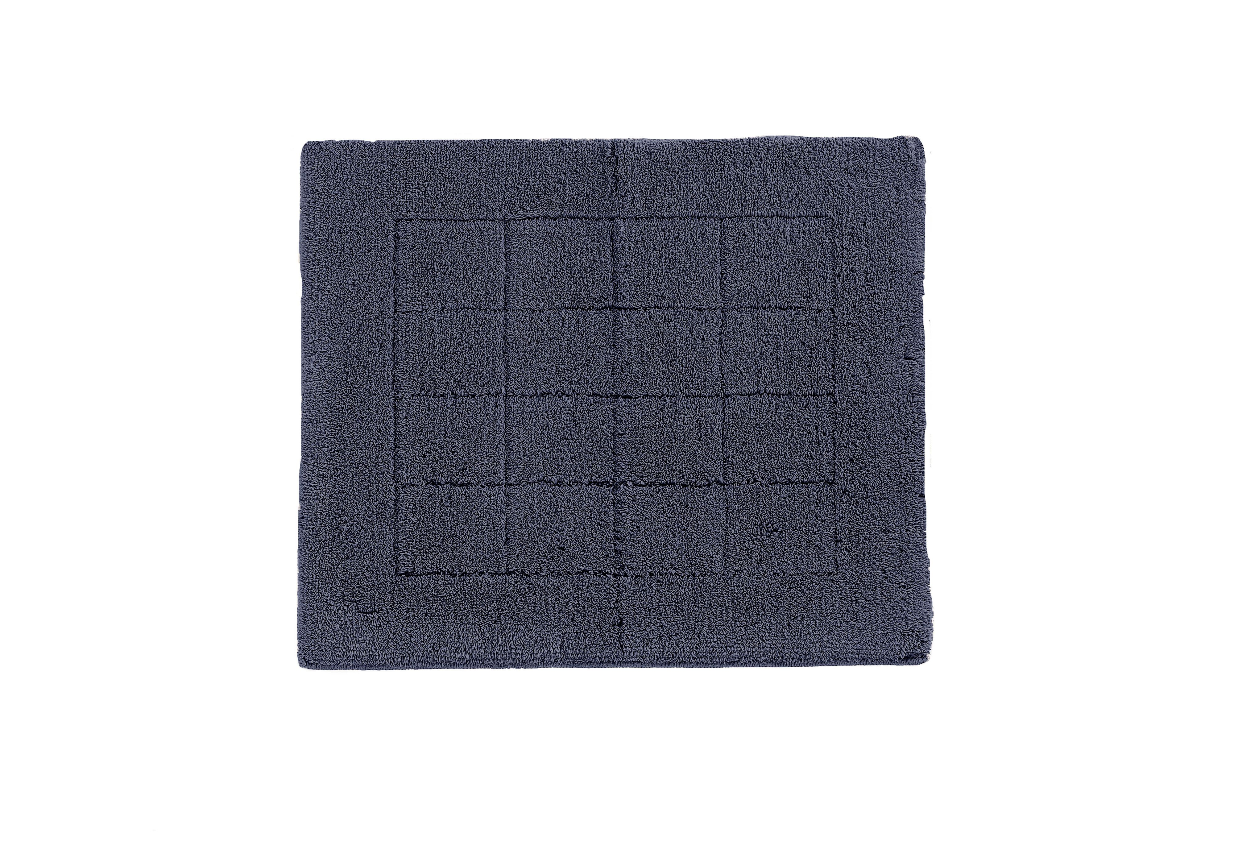 Exclusive bath mat range in charcoal