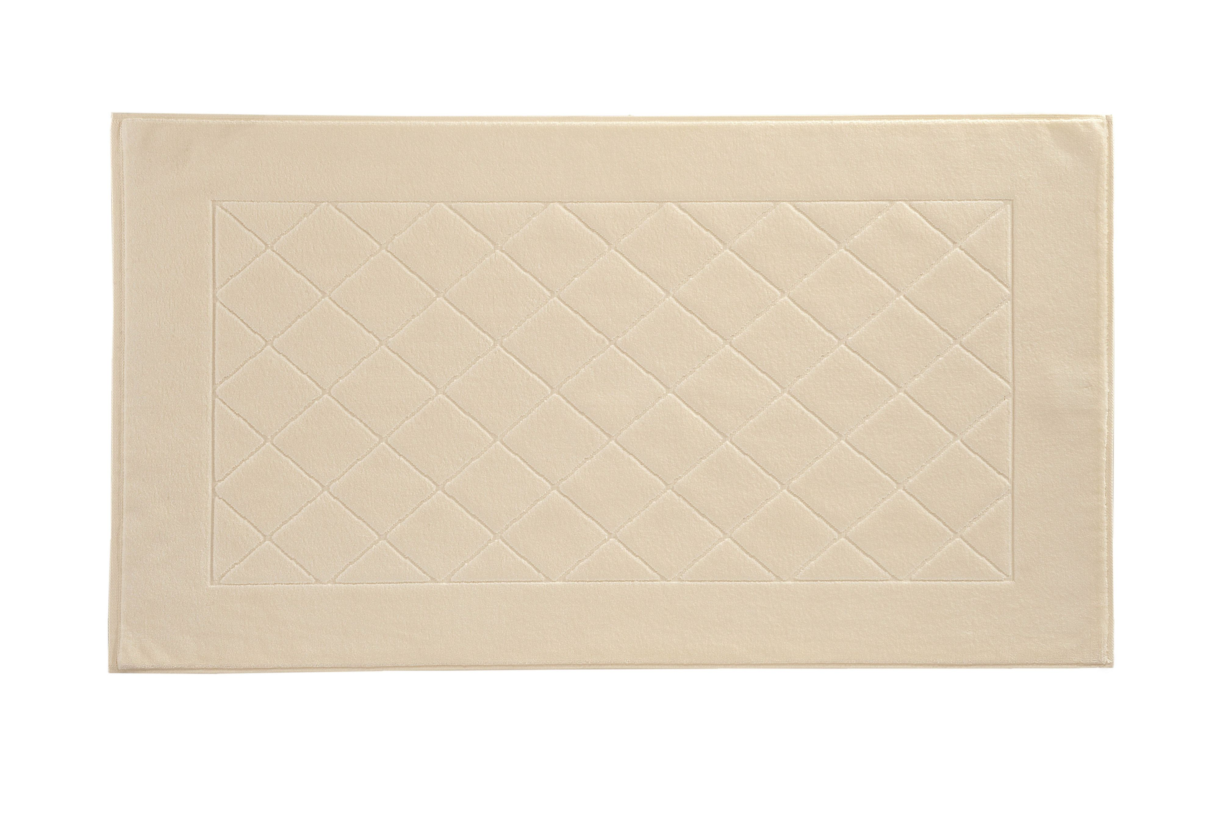 Dreams bath mat range in ivory