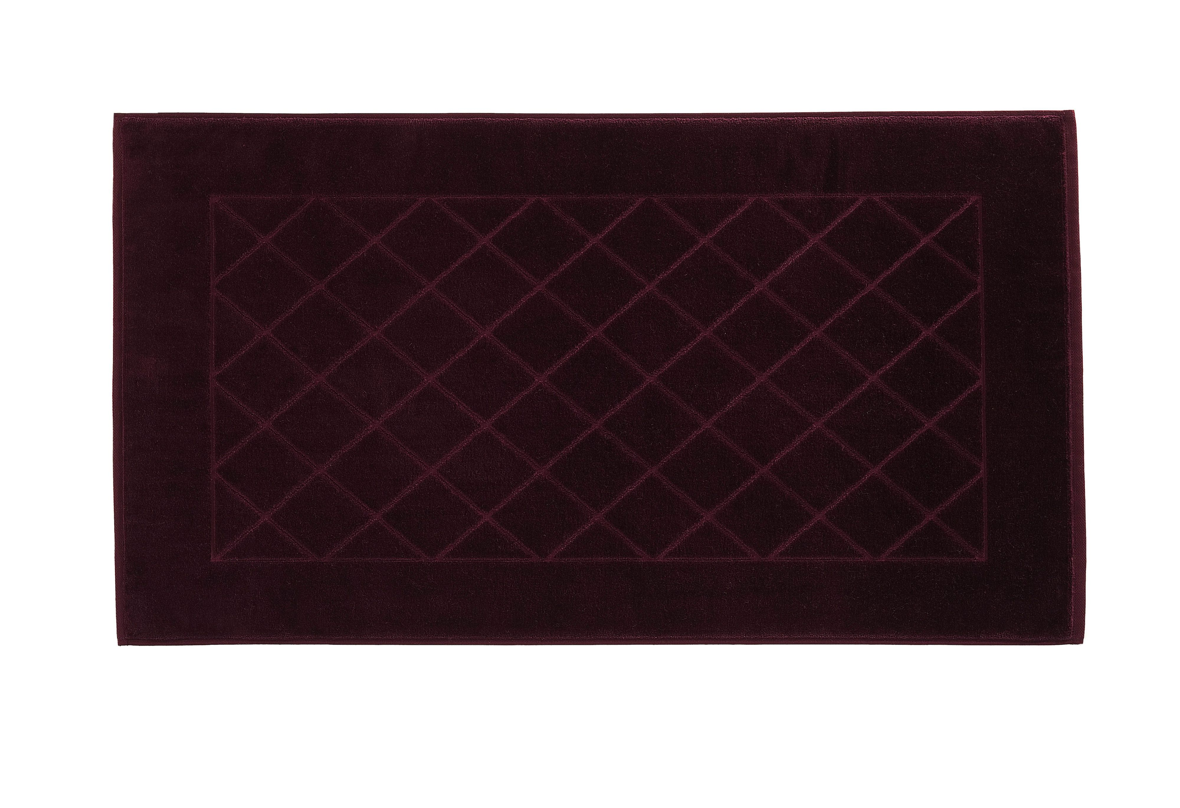 Dreams bath mat range in berry