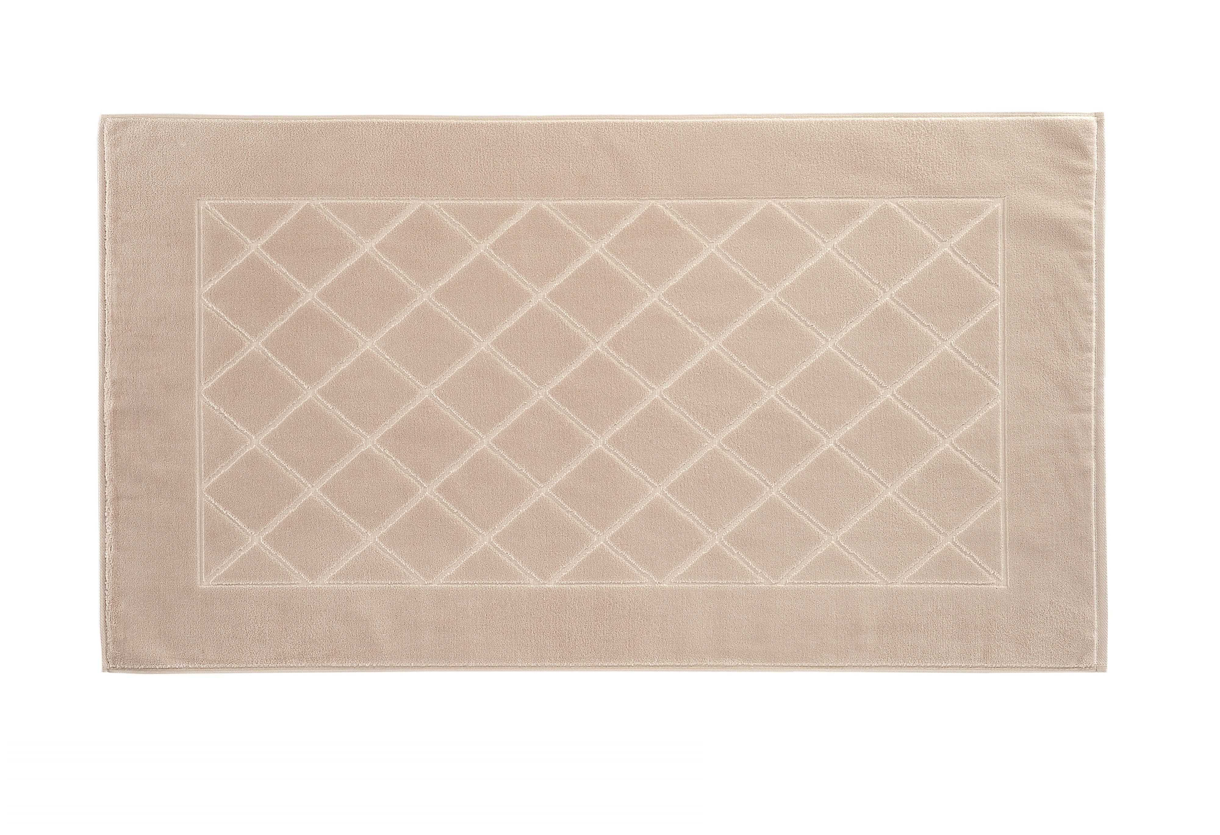 Dreams bath mat range in stone