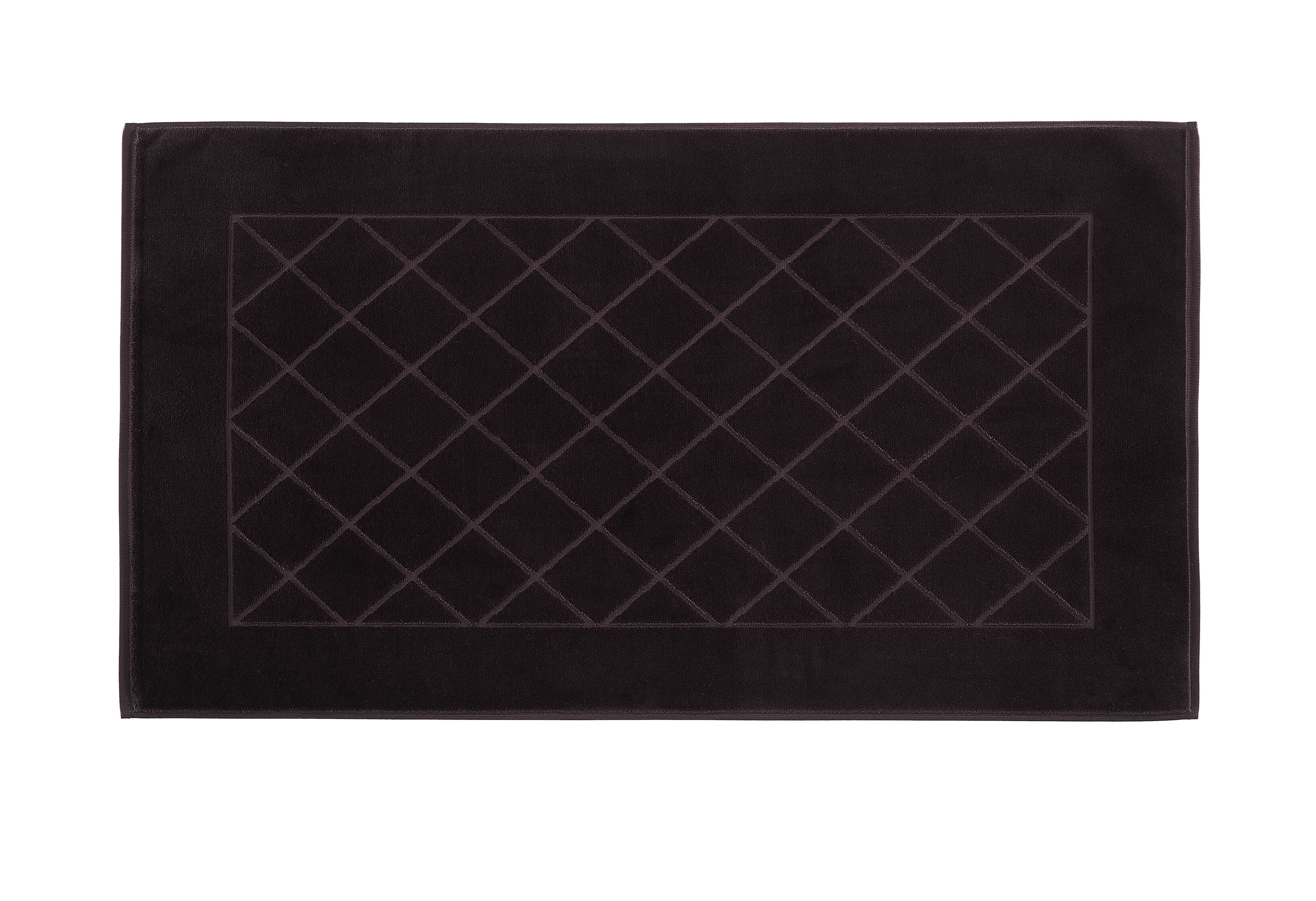 Dreams bath mat range in charcoal