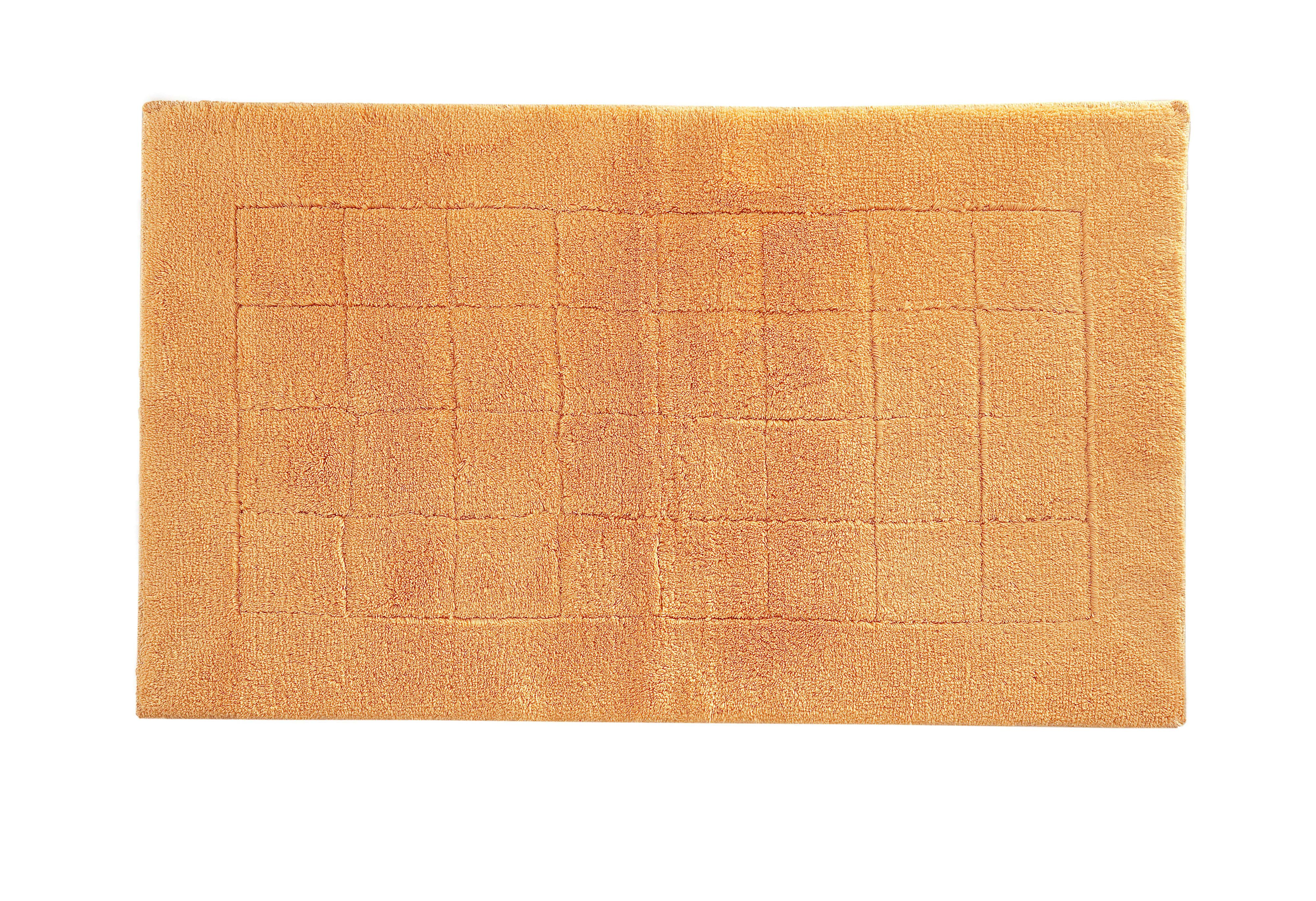 Exclusive bath mat range in peach