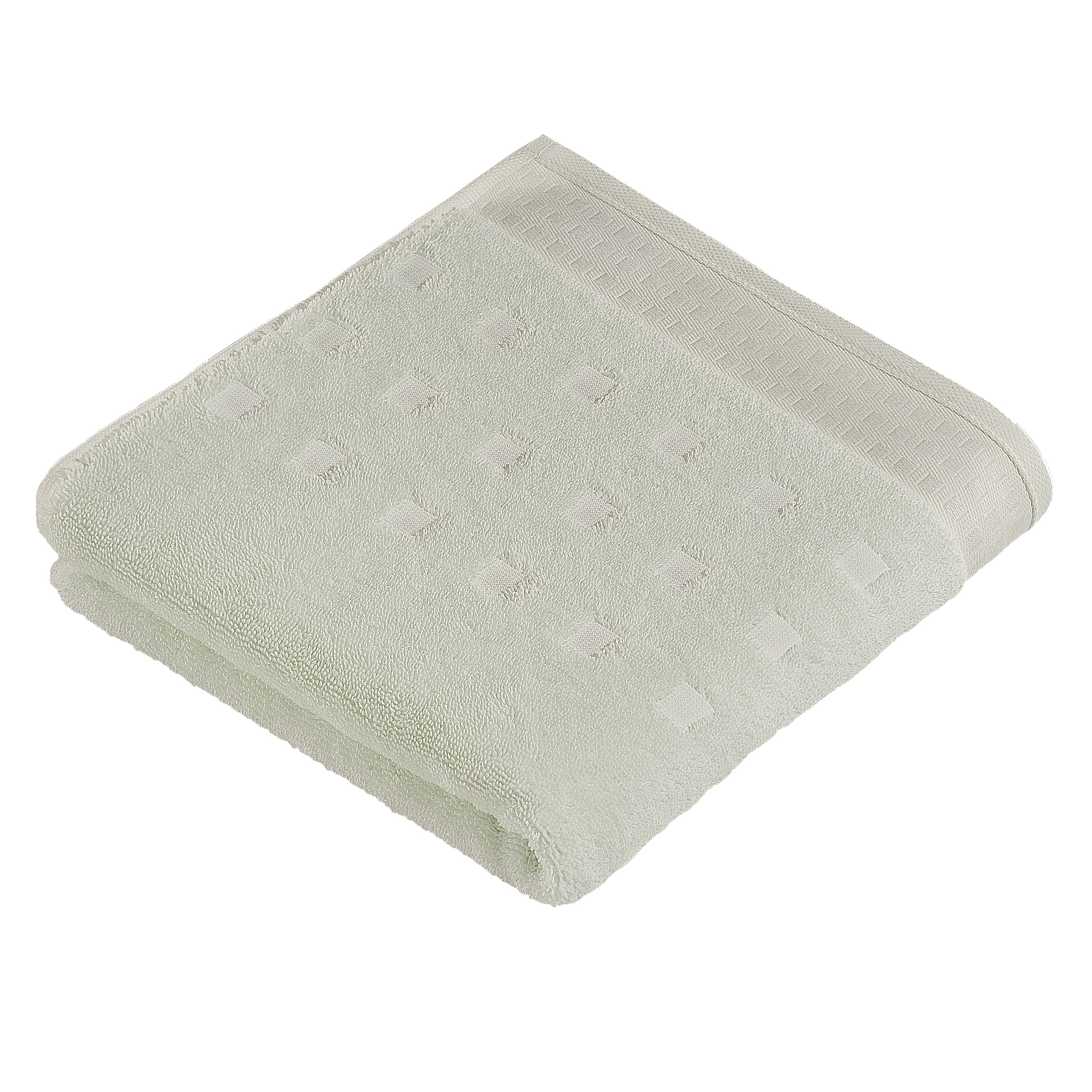 Country style  towels in mintcream