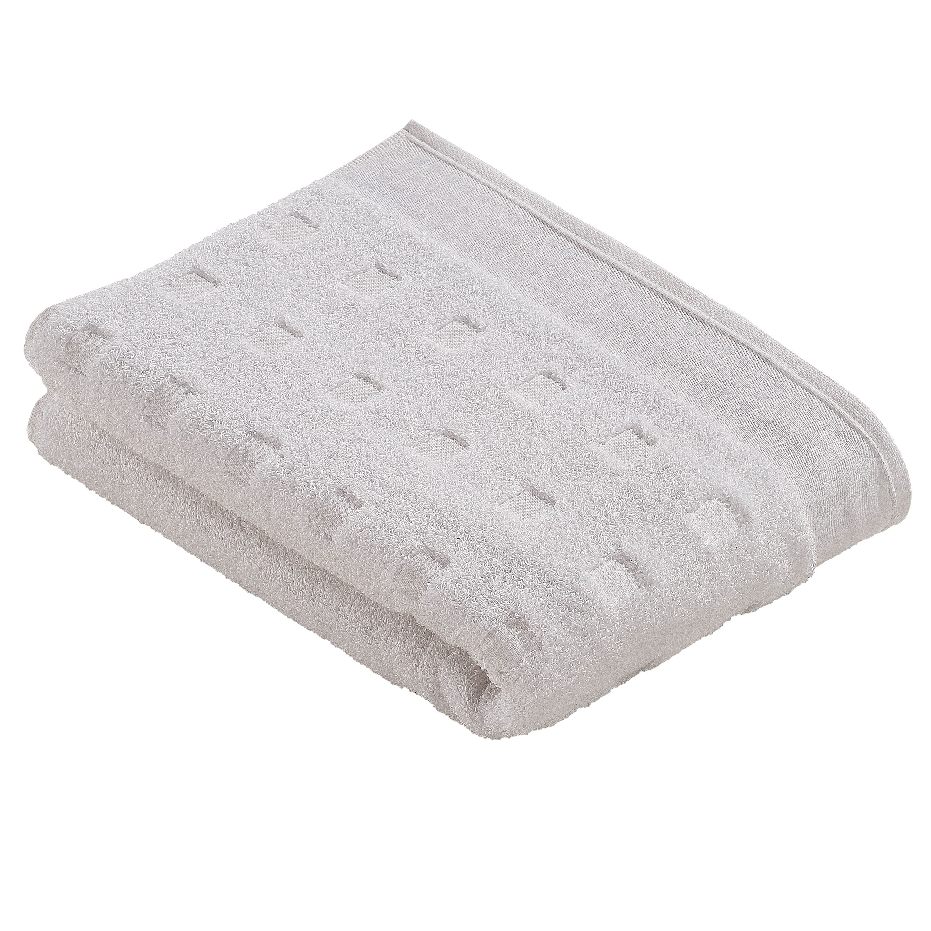 Country style  towels in white