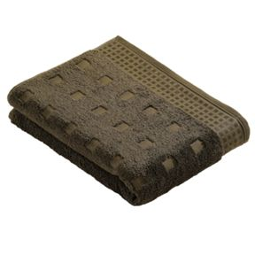 Vossen Country style  towels in mud green
