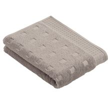 Country style  towels in light grey
