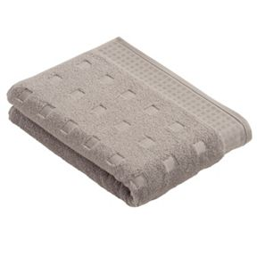Vossen Country style  towels in light grey