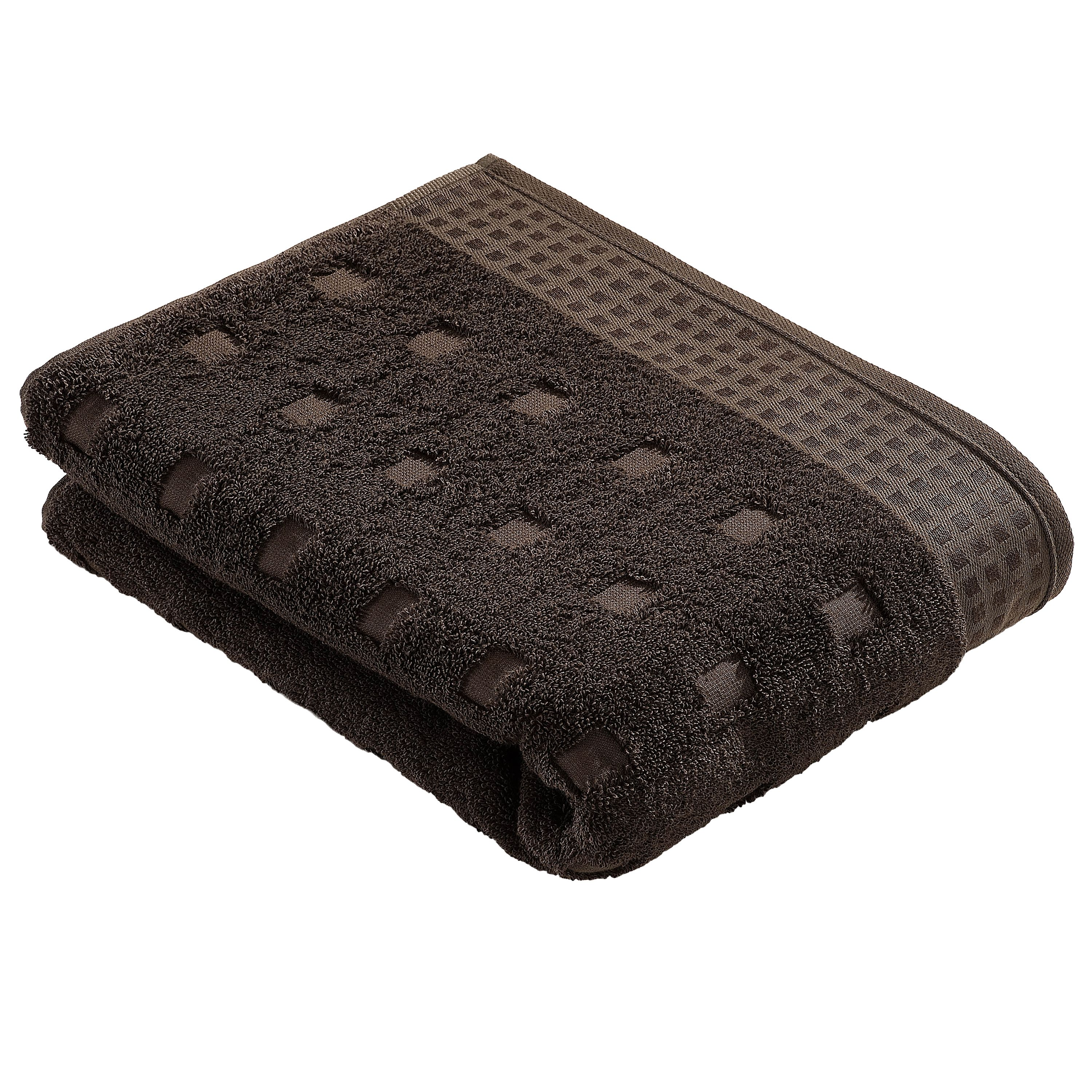 Country style  towels in slate grey