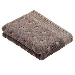 Vossen Country style  towels in pepple