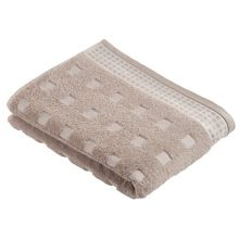 Country  towels in stone/ivory