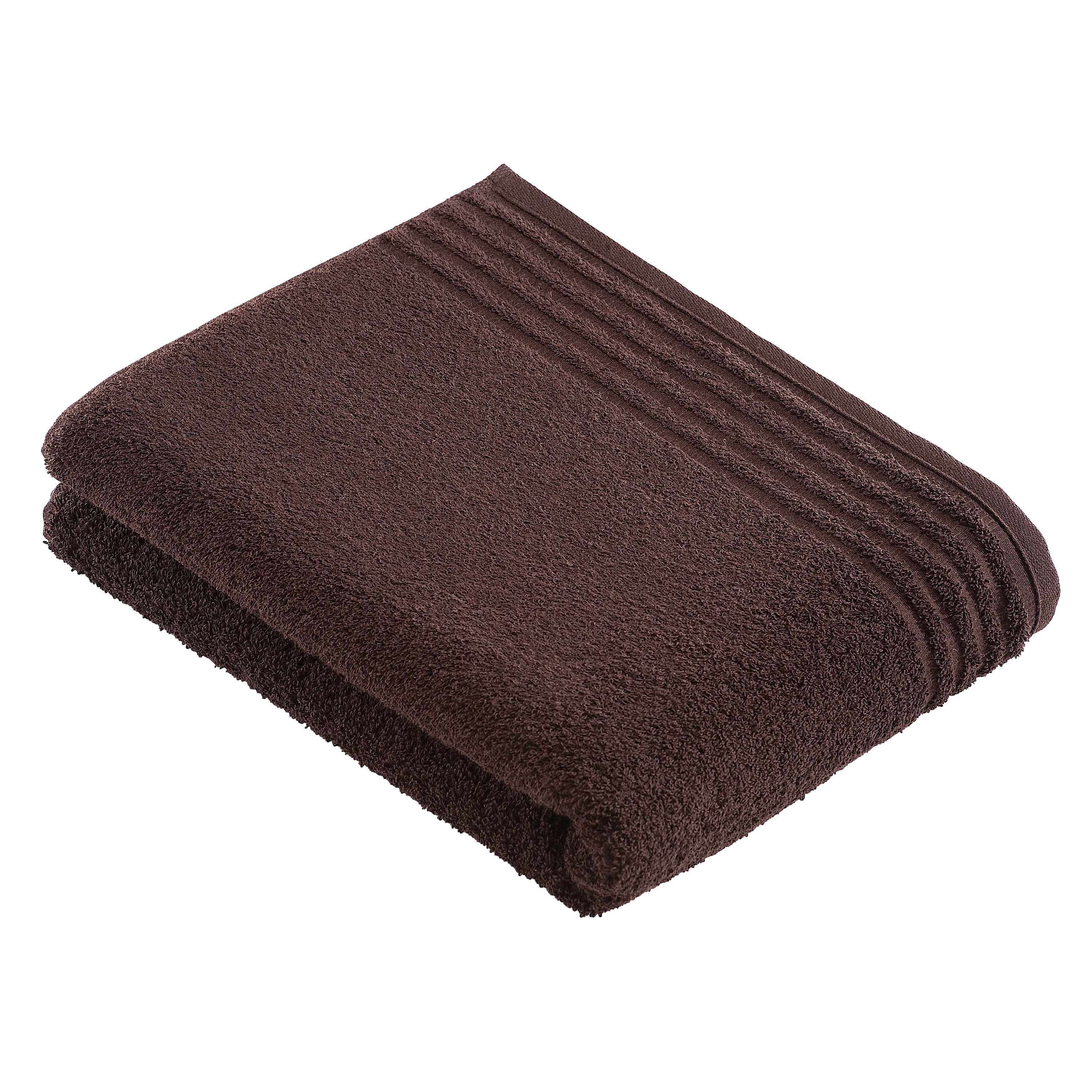 Vienna dark brown towel range