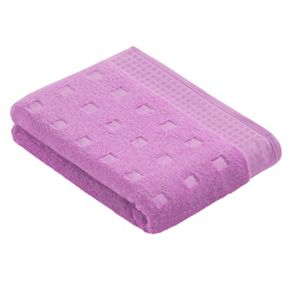 Vossen Country style bath towel range in lilac