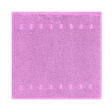Country style bath towel range in lilac