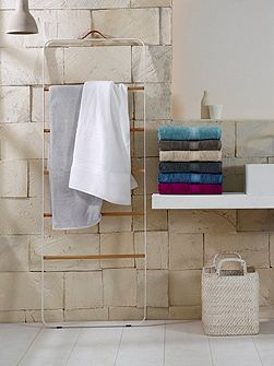 Quick dry luxury white bath mat