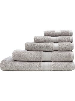 Quick dry luxury silver bath mat