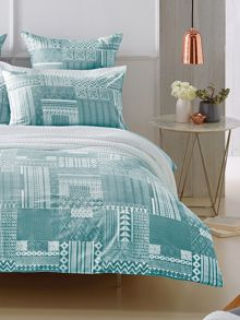 Ellcott Sea Mist bed linen range