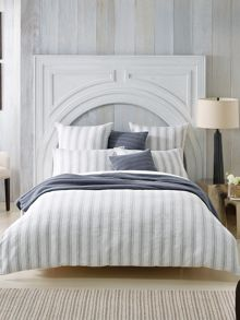 Lake Salt White standard pillowcase pair