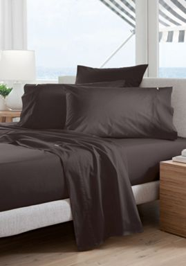 Sheridan Classic percale bed linen in charcoal