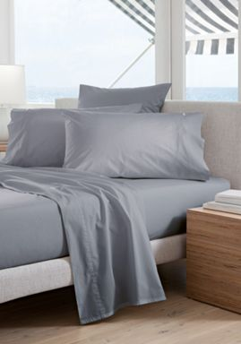 Sheridan 300TC Classic percale bed linen in blue