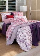 Sheridan Ela bed linen in purple fig