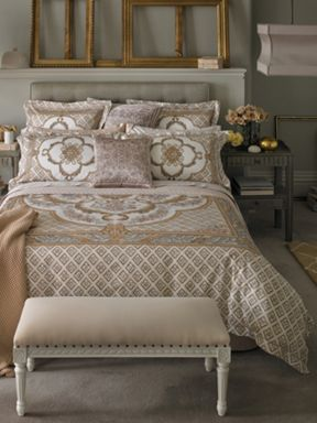 Tea rose farelli bed linen