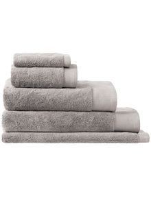 Sheridan Luxury retreat platinum towel range
