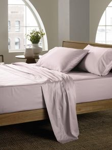 Sheridan Soft sateen peat king flat sheet, super soft sate