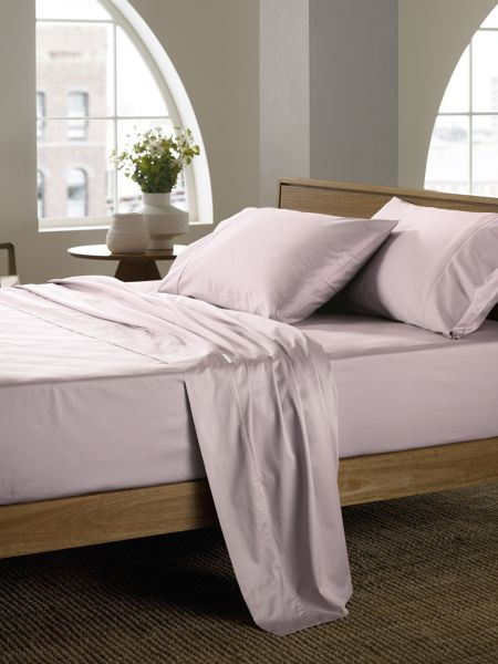 Sheridan Soft sateen peat super king flat sheet, super sof