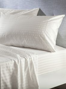 Alford vanilla oxford pillowcase pair