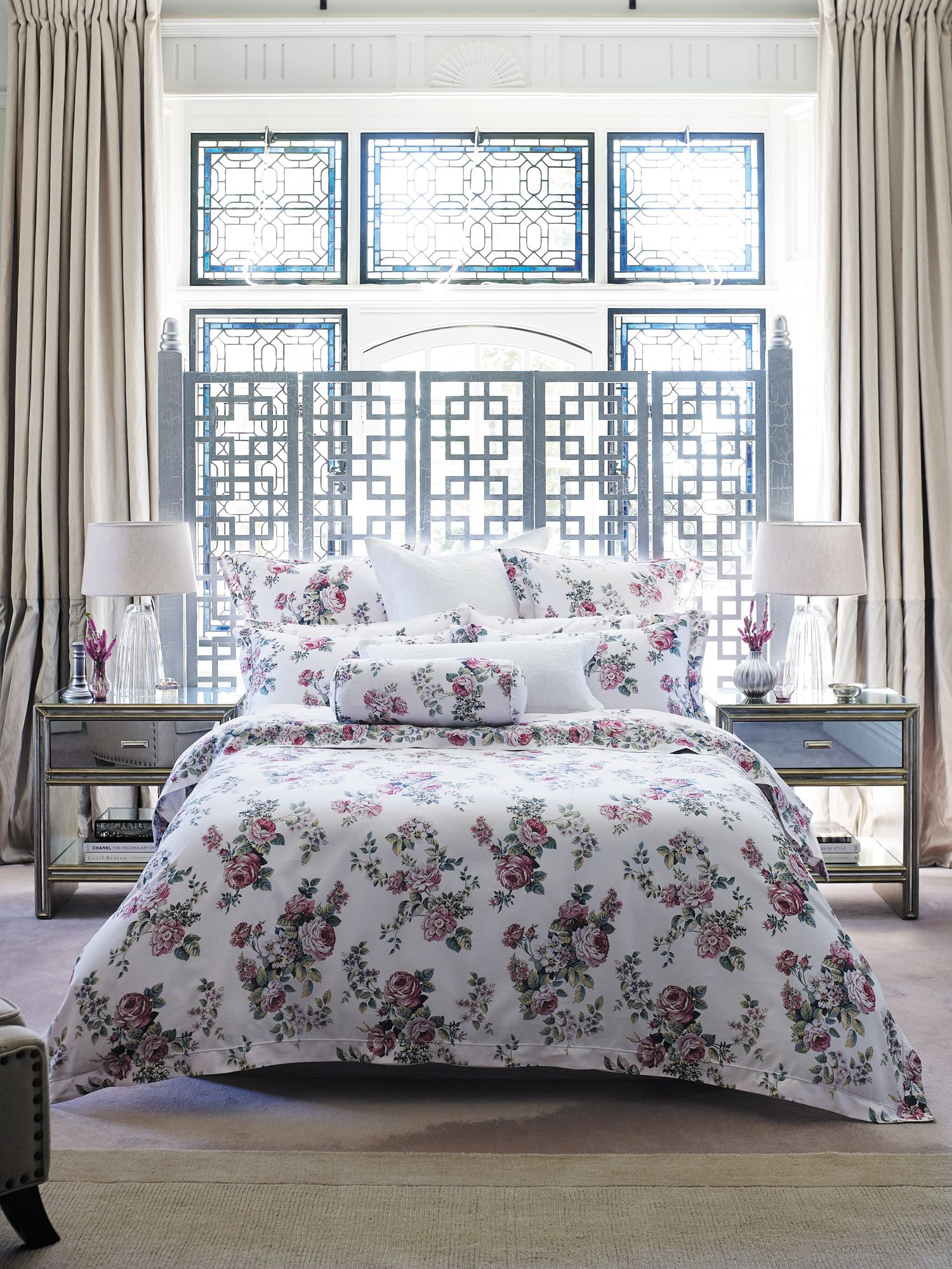 Kellett oatmeal bed linen