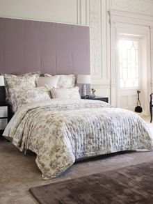 Cazet mink quilted pillowcase pair