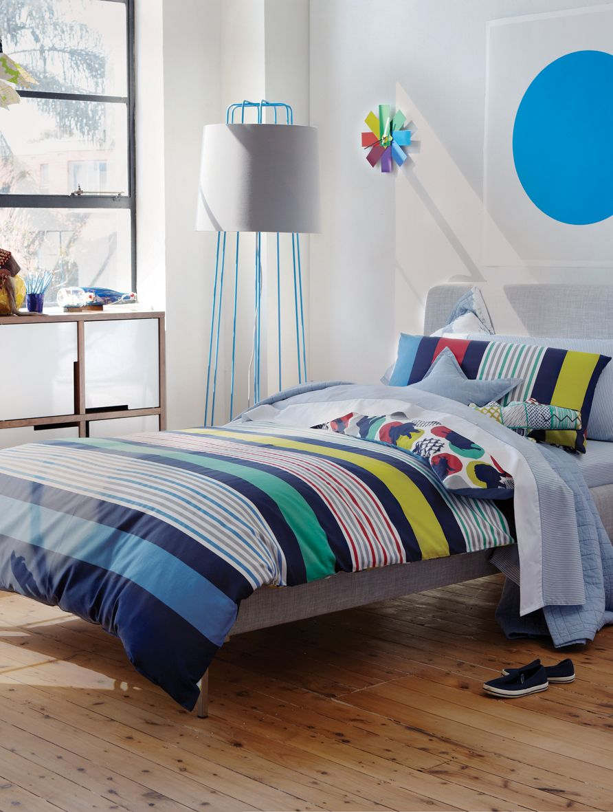 Alessandro bed linen in navy