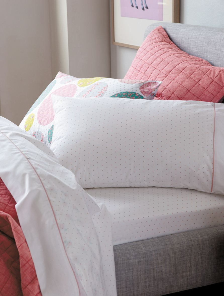 Tia bedlinen in marshmellow