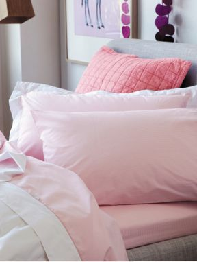 Sheridan Perry bed linen in marshmellow